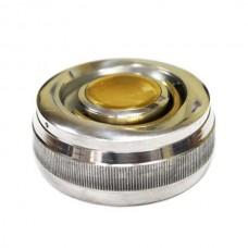 Металлическая оснастка для печатей с кнопкой