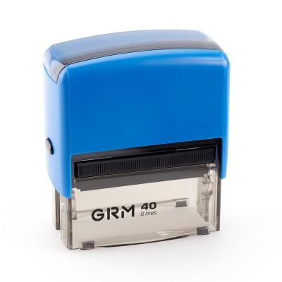 Автоматическая оснастка для прямоугольного штампа GRM 40 Office (59х23 мм)